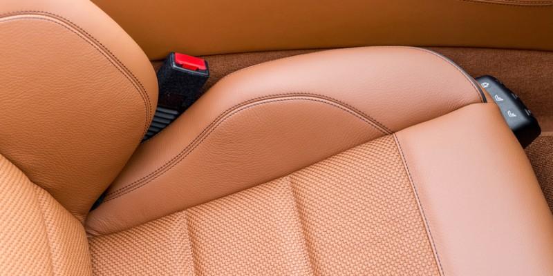 Autositz Leder