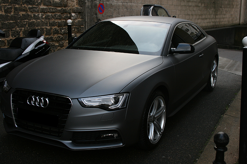 Audi A5 Gris Mat 01