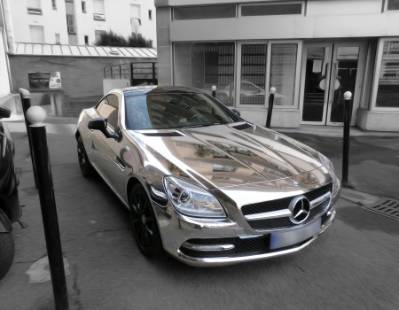 Mercedes SLK Chrome